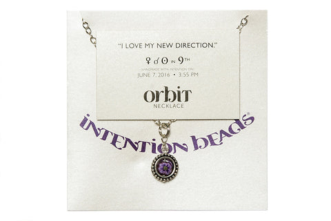 "Orbit Necklace: ""I love my new direction"""