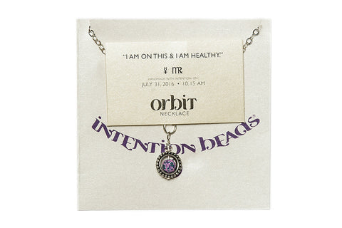 "Orbit Necklace: ""I am on this and I am healthy"""