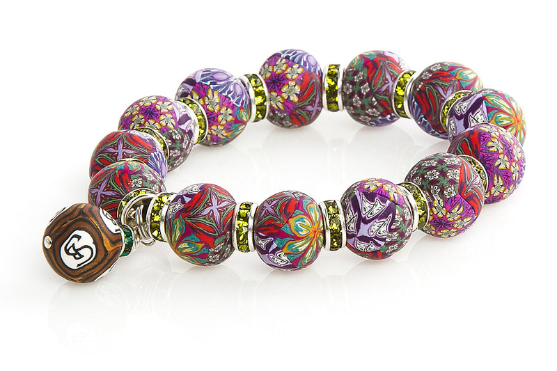 "Intention Bracelet ""I Refine my Spirituality in Love"" - Intention Beads 