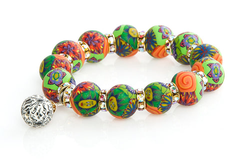Intention Bracelet: To Spring Into a Lucky and Rewarding Situation