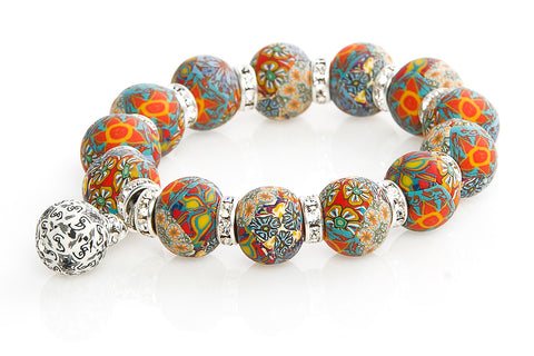 Intention Bracelet: To Be Open Minded Using All Senses