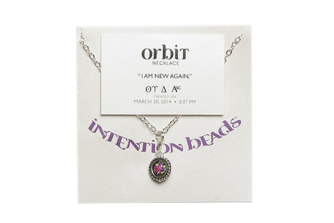 "Orbit Necklace ""I Am New Again"""