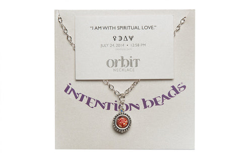 "Orbit Necklace ""I Am With Spiritual Love"""