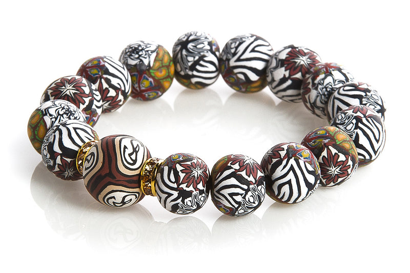 Intention Bracelet: To find structure and discipline within fun and entertainment. - Intention Beads | Astrology | Talisman