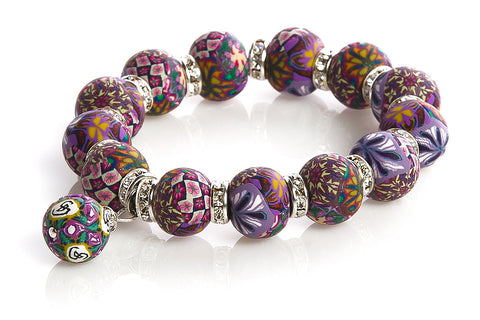 Intention Bracelet: To seek balance thru new studies.