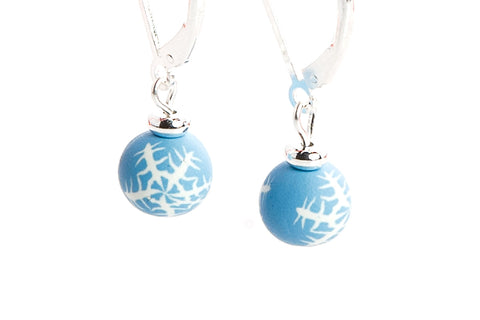 Winter Wonderland Small Bead All Clay Earrings