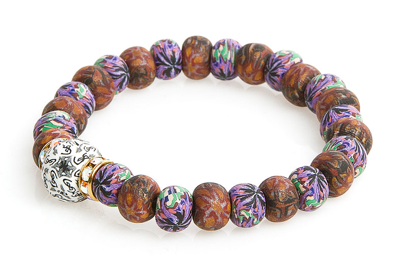 Intention Bracelet: To Attract a Fortunate Social Occurrence - Intention Beads | Astrology | Talisman