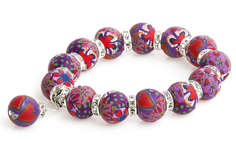 Intention Bracelet: To Increase Intensity of Love - Intention Beads | Astrology | Talisman