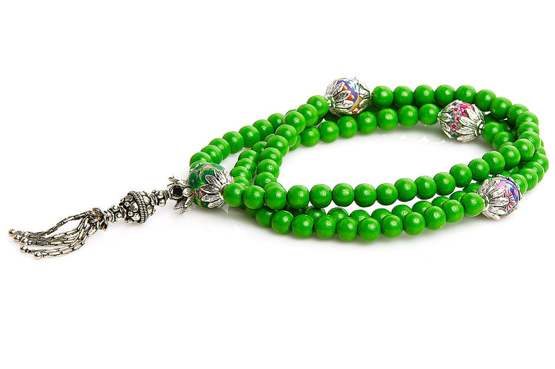 Mala Prayer Beads: To Be Confident - Intention Beads | Astrology | Talisman