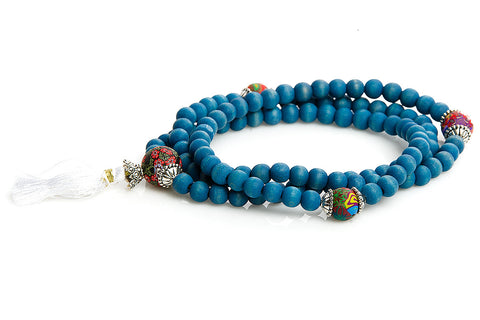 "Mala Prayer Beads ""For Reflection and Review"""