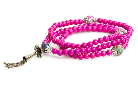 "Mala Prayer Beads ""Freedom and New Experiences"""