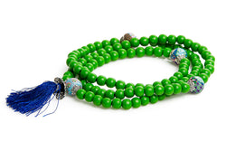 "Mala Prayer Beads ""To Be Harmony and Peace into The World"" - Intention Beads 