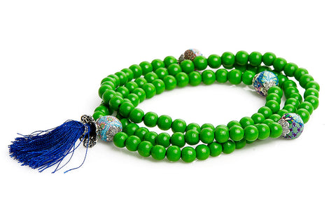 "Mala Prayer Beads ""To Be Harmony and Peace into The World"""