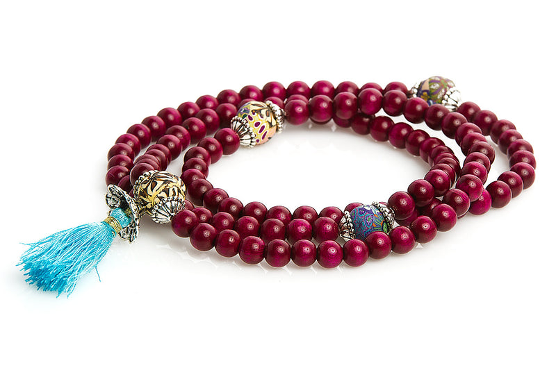 "Mala Prayer Beads ""To Move Forward"" - Intention Beads 