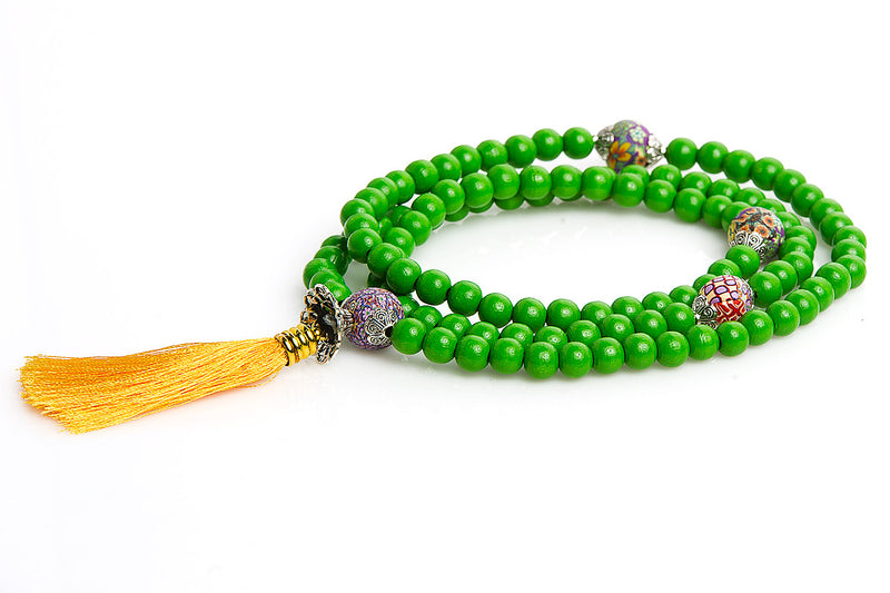Mala Prayer Beads: For Strength and Fitness - Intention Beads | Astrology | Talisman