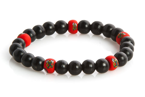 Blackhawks Earth Bracelet