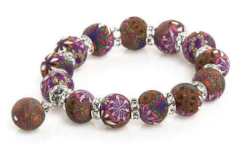 Intention Bracelet: To entertain others and gain recognition to grow my business.