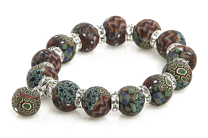 Intention Bracelet: To grow my social groups. - Intention Beads | Astrology | Talisman