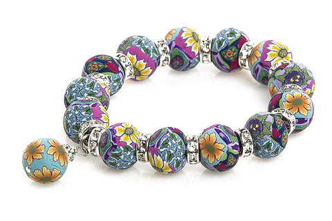 Intention Bracelet: To expand the beauty of life thru new encounters.