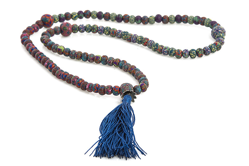 New Moon Mala Prayer Beads: To grow, expand and reach unusual heights. - Intention Beads | Astrology | Talisman
