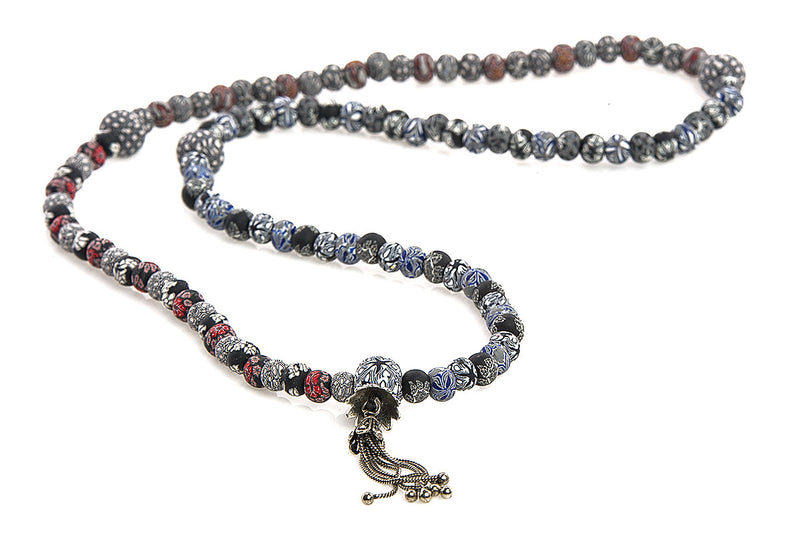 New Moon Mala Prayer Beads: For spiritually intuitive messages and connections. - Intention Beads | Astrology | Talisman