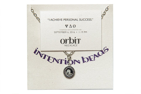 "Orbit Necklace: ""I achieve personal success"""