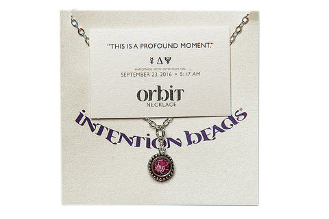 "Orbit Necklace: ""This is a profound moment."""