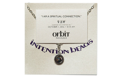 "Orbit Necklace: ""I am a spiritual connection"""