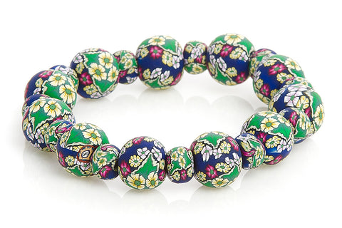 Annabel Large Bead All Clay Bracelet