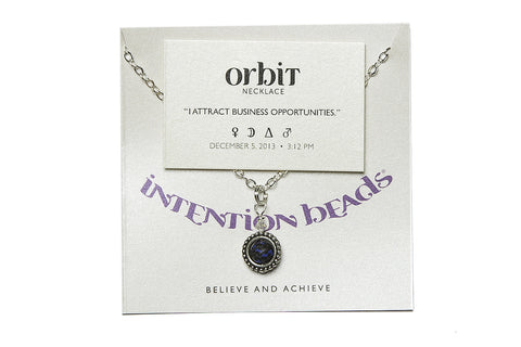 "Orbit Necklace ""I Attract Favorable Business Opportunities"""