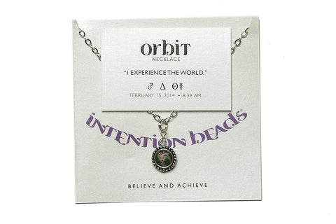 "Orbit Necklace ""I Experience The World"""