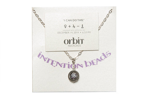 "Orbit Necklace ""I Can Do This"""