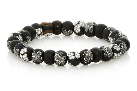 Olivia Small Bead All Clay Bracelet