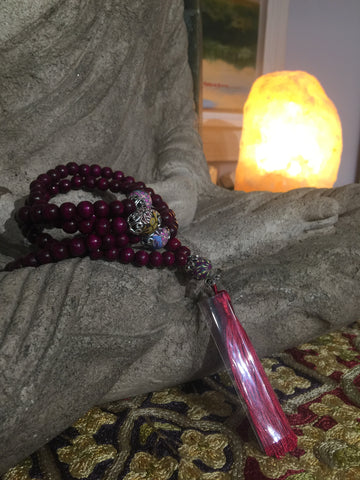 Mala Prayer Beads: For freshness of ideas and experiences.
