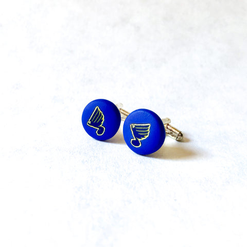Father's Day Cuff Links- The Blues