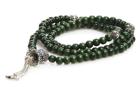 "Mala Prayer Beads ""Live Up To Responsibilities"""