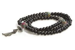 Mala Prayer Beads: To Be Courageous and Alive - Intention Beads | Astrology | Talisman