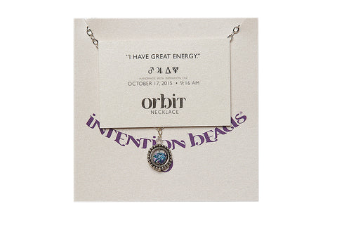 "Orbit Necklace ""I Have Great Energy"""