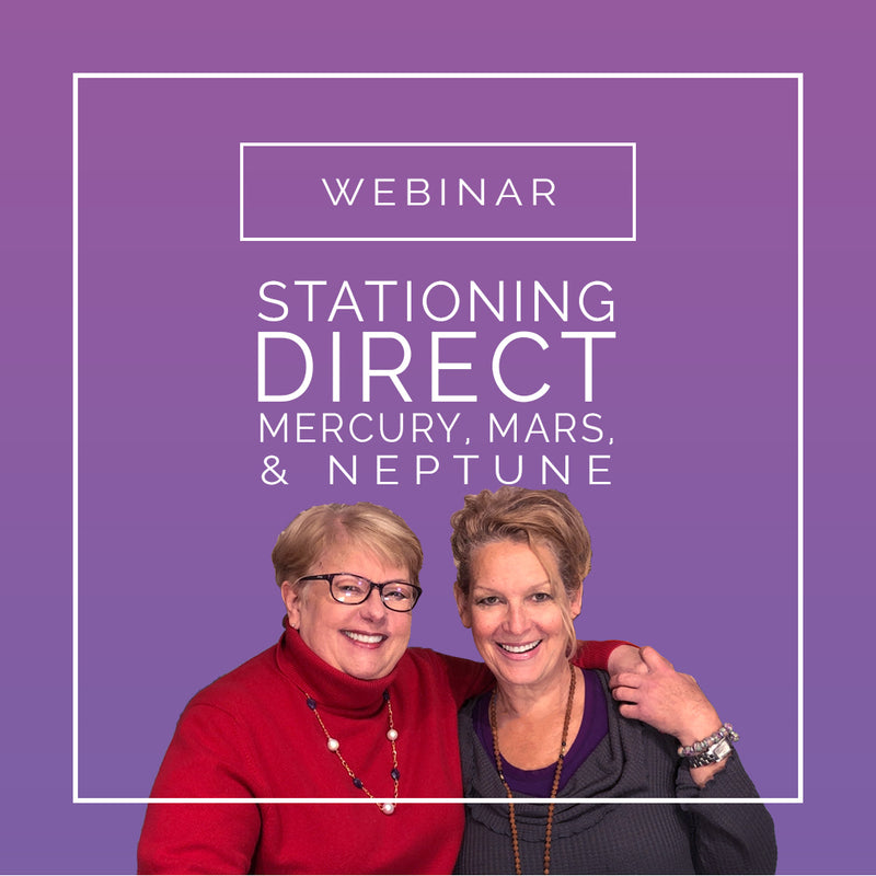 Stationing Direct Astrology Webinar