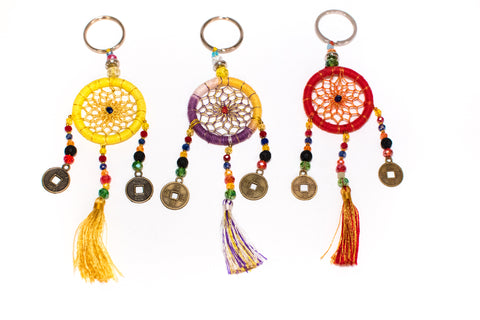 Bali Treasures: Dreamcatcher Keychains