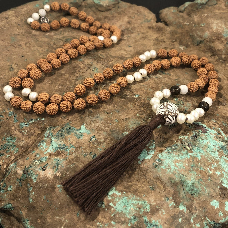 Cancer Celestial Mala - Intention Beads | Astrology | Talisman
