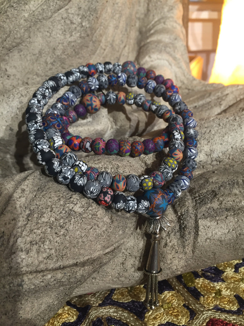 Mala Prayer Beads: To renew solid foundations for future success. - Intention Beads | Astrology | Talisman