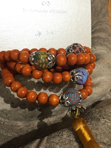 Mala Prayer Beads: To stimulate attraction