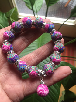 Intention Bracelet: To open up new opportunities for growth. - Intention Beads | Astrology | Talisman