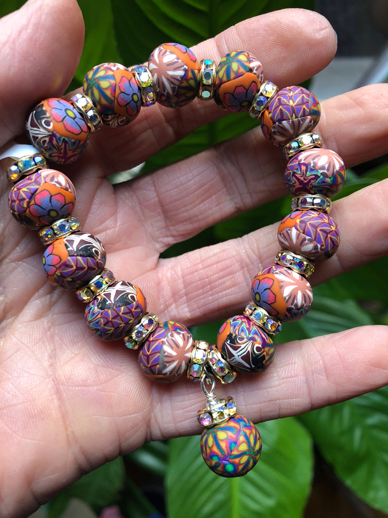 Intention Bracelet: To vision the large scope of myself. - Intention Beads | Astrology | Talisman