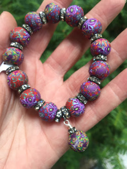 Intention Bracelet: To exhibit artist intensity. - Intention Beads | Astrology | Talisman