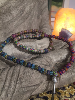 New Moon Mala: To energetically emerge through ongoing transformation. - Intention Beads | Astrology | Talisman