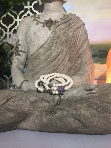 Mala Prayer Beads: To make permanent financial changes