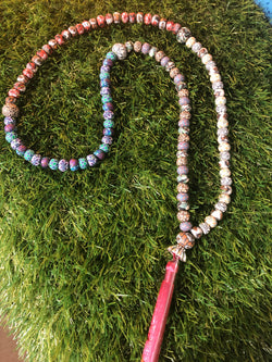 New Moon Mala in Gemini: To speak and listen to Spiritual Messages and share them with others. - Intention Beads | Astrology | Talisman