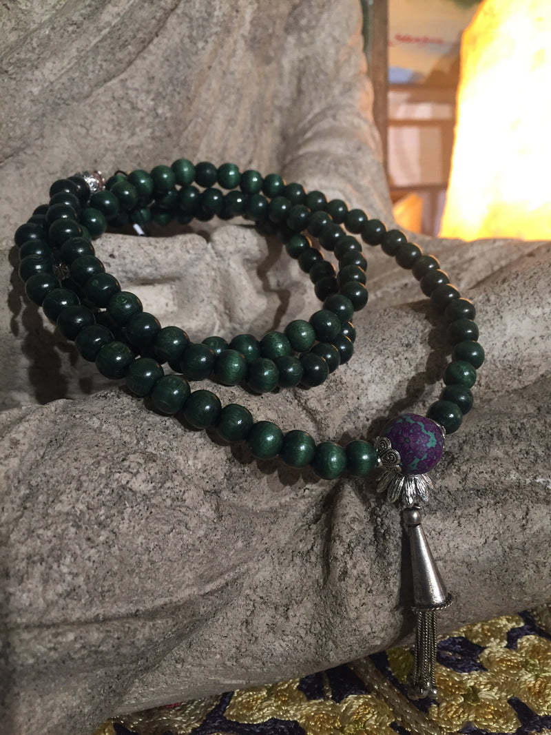 Mala Prayer Beads: To be strong and confident that all is perfect. - Intention Beads | Astrology | Talisman